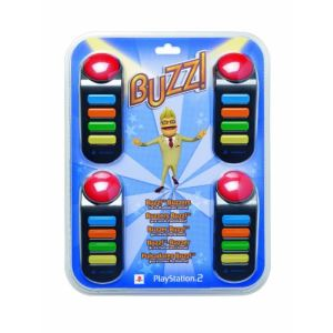 Sony Buzzers pour Playstation 2