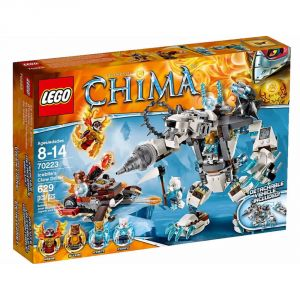 Lego 70223 - Legends of Chima : Le robot ours des glaces