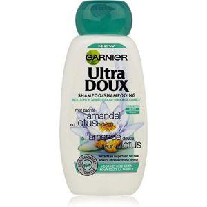 Garnier Ultra doux - Shampooing à l'amande douce et fleur de lotus