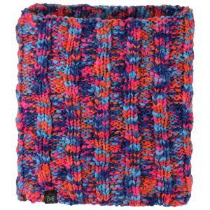 Buff Knitted & Polar Neckwarmer Livy orange