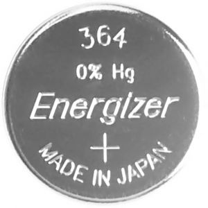 Energizer Pile bouton 364 oxyde dargent 23 mAh 1.55 V 1 pc(s)