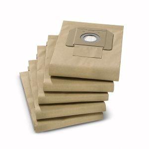 Kärcher 6.904-210.0 - 5 filtres papier 2 couches pour aspirateurs