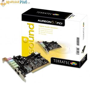 TerraTec Electronic Aureon 5.1 PCI - Carte son PCI 5.1 Surround