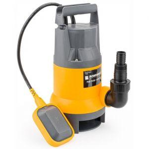 Powermat Pompe à eau immergée pour eau propre-sale 1600W avec flotteur 9500L-h