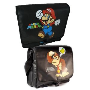 Bioworld Sac à bandoulière réversible Nintendo Mario et Donkey Kong