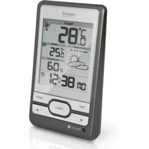 Oregon scientific BAR 206 - Station météo sans fil avec horloge radio piloté