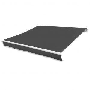VidaXL Toile d'auvent Anthracite 300x250 cm