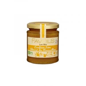 Favols Confiture Bio Abricot du Roussillon 220 g - Lot de 3