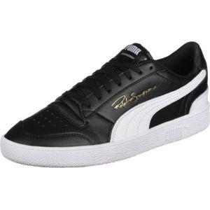 Puma Chaussures Basket RALPH SAMPSON LO - 370846-01 Noir - Taille 40,41,42,43,44,45,46