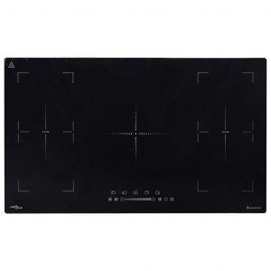 VidaXL Plaque de cuisson à induction Flexizone incorporée 3000 W 86 cm