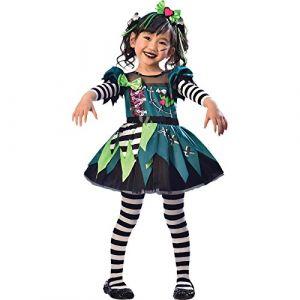 Amscan Déguisement Little Miss Frankenstein 4-6 Ans