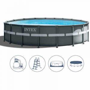 Intex 26330 ex 26332 piscine hors-sol ronde Ultra Frame 549x132