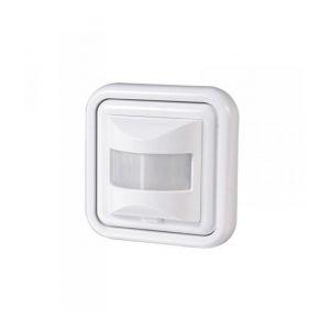 Orno Détecteur de mouvement mural à infrarouge Interrupteur d'éclairage LED Blanc 500 W