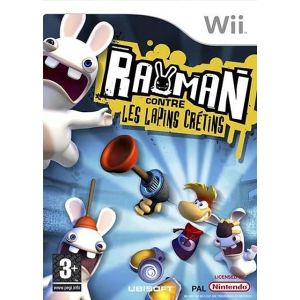 Rayman contre les Lapins Crétins [Wii]