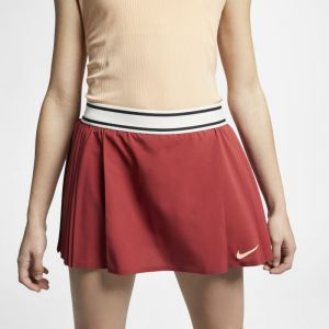 Nike Jupe de tennis Court Flex Maria Victory pour Femme - Rouge - Couleur Rouge - Taille XS
