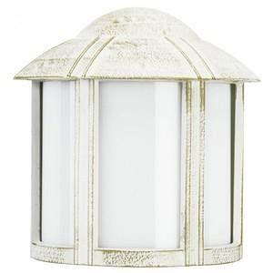 Albert Leuchten Imposante applique d'extérieur Affra blanc et doré
