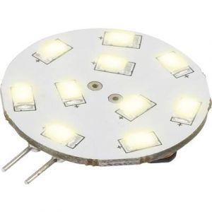 Sygonix Ampoule LED G4 LN-04-10ES-S-30D-WW-00 à broches 1.5 W = 15 W blanc chaud (Ø x L) 30 mm x 36 mm EEC: A 1 pc(s)