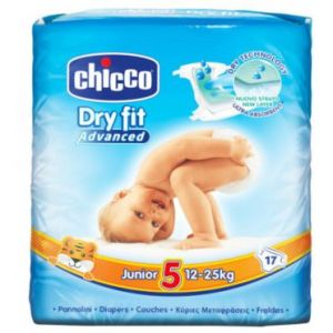 Chicco Dry Fit Advanced taille 5 (12-25 kg) - 17 couches