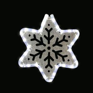 Festilight Étoile lumineuse motifs découpés Star Argent