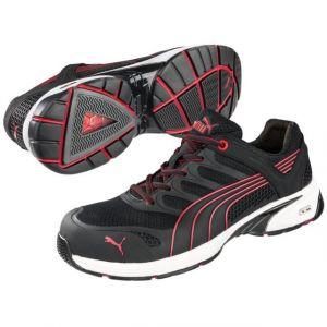 Puma Safety chaussure de sécurité Taille: 46 Fuse Motion Red Men Low 642540 S1P 1 paire
