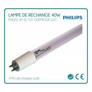 Desineo Lampe de rechange 40W Philips pour stérilisateur UV -