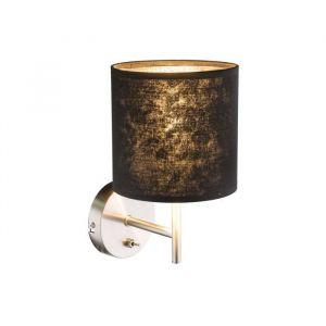 Globo Lighting GLOBO Applique Nickel mat L19 x l15 x h26 cm - Noir - Gris métalisé