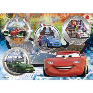Clementoni Puzzle maxi Cars : Tous en piste ! 24 pièces