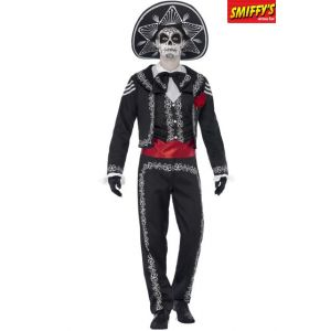 DÉGUISEMENT SENOR DAY OF THE DEAD-TAILLE L