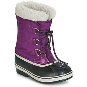 Sorel Bottes neige enfant YOOT PAC? NYLON violet - Taille 36,37,38,39,32,33,34,35