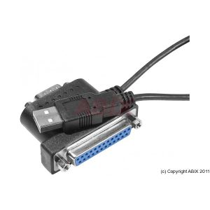 Dexlan 040872 - Câble 2 en 1 USB Vers RS232 DB9 + Imprimante DB25