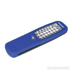 Silverline 564789 - Torche magnétique 24 LED