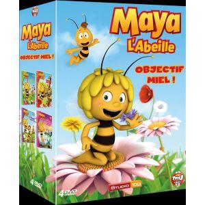 Coffret Maya l'Abeille 3D Objectif Miel - 4 DVD