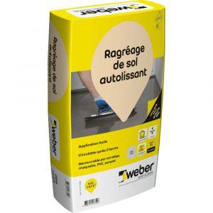 Weber Ragreage sols intérieurs P3 gris 25kg 11101689