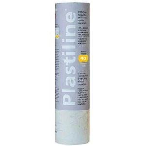 Herbin Plastiline gris - 1kg - dureté 40