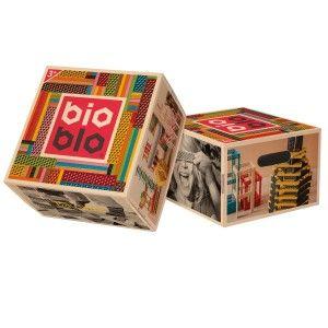 BioBlo Baril 204 planchettes colorées