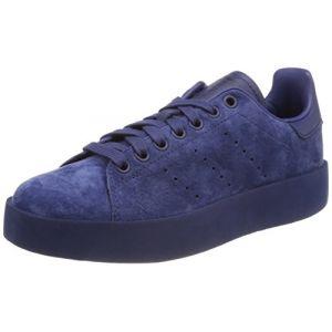 Adidas Stan Smith Bold, Baskets Femme, Bleu (Noble Indigo/Noble Indigo/Noble Indigo 0), 38 EU