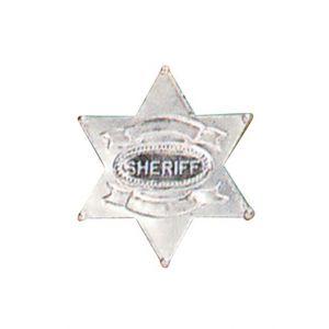 Widmann Etoile de shérif argentée