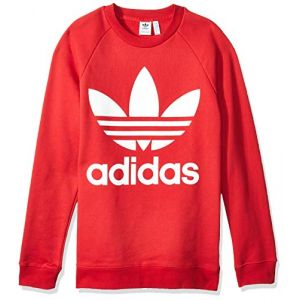 Adidas Oversized Sweat-Shirt Femme, Rouge, 38 EU/44 IT
