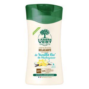 L'Arbre Vert Crème douche relaxante aux extraits de Vanille Bio de Madagascar