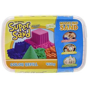 Goliath Super Sand recharge de couleur rose 450g