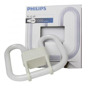 Philips Ampoule PL-Q GR10q 4 broches 16 Watts code couleur 827