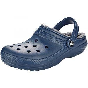 Crocs Classic Lined - Sandales - bleu Sandales Loisir