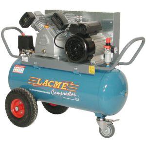 Lacme Comprestar 20 V 50 M - Compresseur à courroie monophasé 20 m³/h sur cuve 50 litres (122000)
