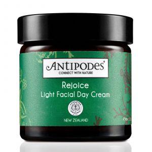 Antipodes Rejoice light face day cream