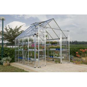 Palram Sunny II - Serre de jardin en polycarbonate 6,3 m²