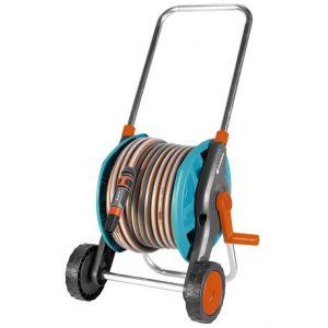 Gardena Devidoir equipé sur roue avec tuyau 25m