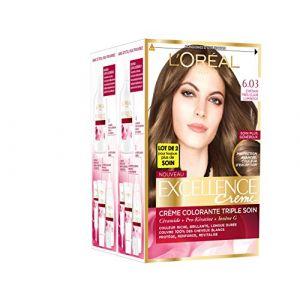 L'Oréal Excellence Crème 6.03 Châtain très clair lumineux