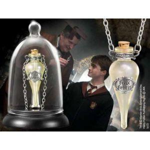 The Noble Collection Réplique - Harry Potter - Pendentif Felix Felicis avec Présentoir