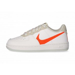 Nike Force 1 Lv8 Blanche Et Orange Enfant 32 Baskets