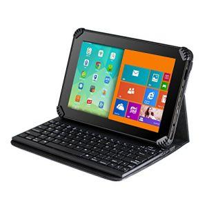 Navitech Étui avec clavier Bluetooth amovible pour Acer Iconia Tab 10 A3-A30 / A3-A20